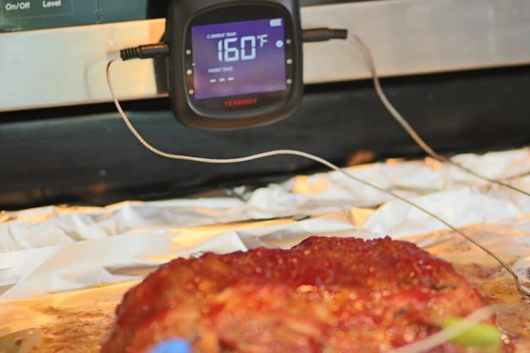All Beef Meatloaf done at 160 degrees Fahrenheit
