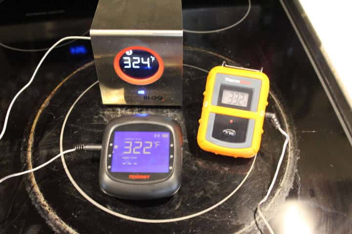 Examples of oven-safe digital meat thermometers