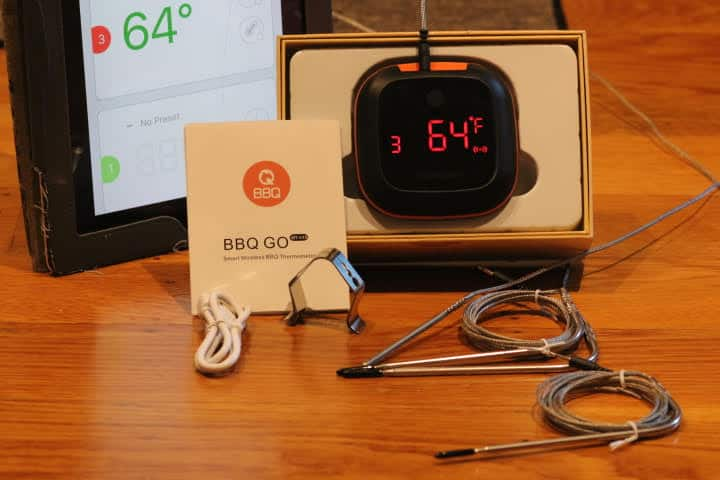 The InkBird IBT-4XS Bluetooth Meat Thermometer