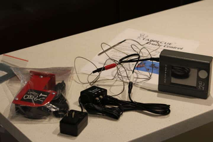 All of the parts for the Tappecue Cruise Control System