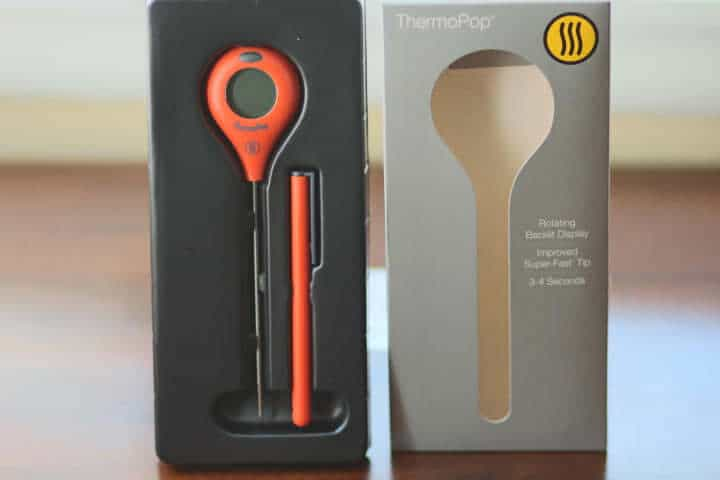 The Thermoworks ThermoPop right out of the box.