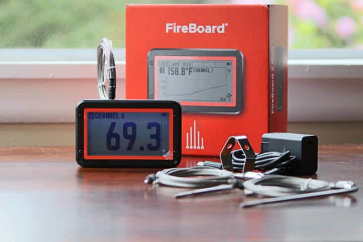 The Fireboard 2 Drive with everything it comes with.