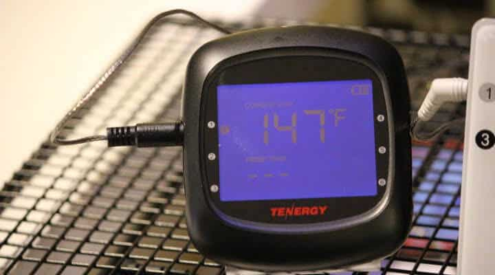 The Tenergy Solis Bluetooth Meat Thermometer