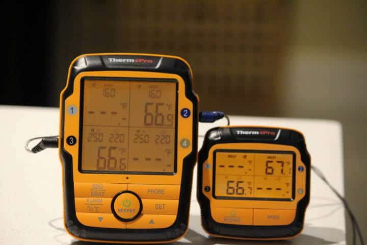 ThermoPro TP27 Remote Meat Thermometer Transmitter and Receiver Units