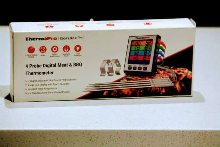 The box of the ThermoPro TP17H Digital Food Thermometer